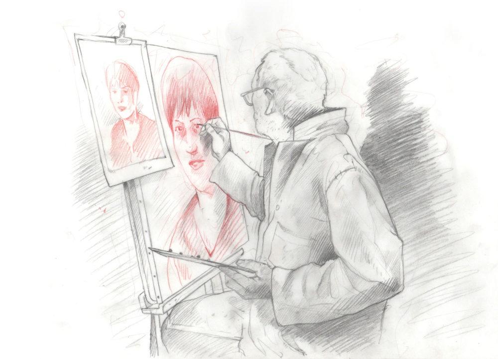 La technique est un choix qui participe à la construction de l'identité de l'artiste. Elle lui permet de mettre en avant des particularités qui n'appartiennent qu'à lui. Car la technique est la maturation d'un savoir-faire, qui permet de valoriser une expression.