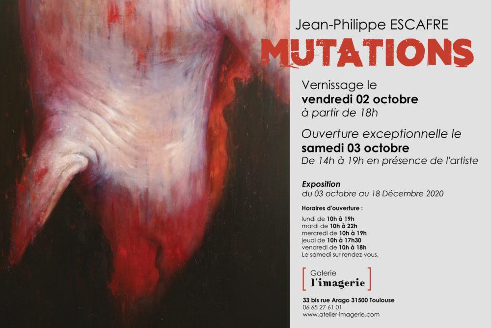 'Mutations' Jean-Philippe Escafre
