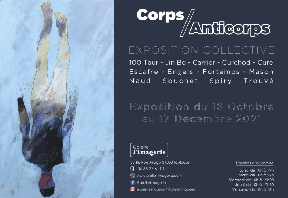 Exposition Collective – CORPS/ANTICORPS